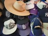 Baseball hats Chargers Mickey Marine corp Ducks and more