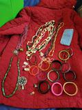 Costume Jewelry Bracelets and Necklaces