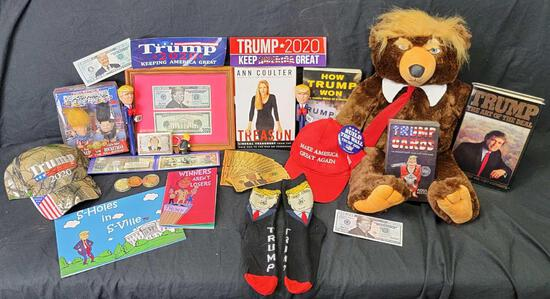 Donald Trump Lot - 45th President Collection