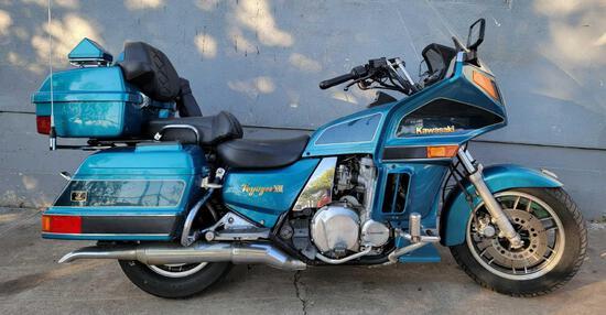 1994 Kawasaki Voyager XII - 24k Miles, Runs & Drives. 1200cc Touring Japanese Motorcycle