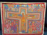 Unique Quilted Artwork of Jesus