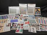 Stamp sheets 90s and 2000s Legends of Baseball Paul Bunyan Sierra Club space