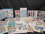 Stamp sheets World cup Fish Florida National Postal Museum Marilyn Monroe Civil War