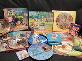 Disneys Lady and Tramp Memorabilia plates albums Doap puzzle