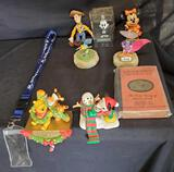 Disney figures,Mickey & Mini mouse, Winnie the pooh with Tigger