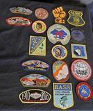 Various patches boy scout jamboree lv 951 troop