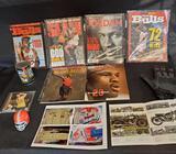 Michael Jordan magazines, Jack Nicklaus turbo golf, Misc pics.