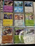 Binder of Japanese pokemon cards holo, reverse holo, Rare