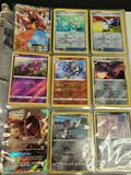 Binder of pokemon cards. Holo, reverse holo, Gx, Ex,