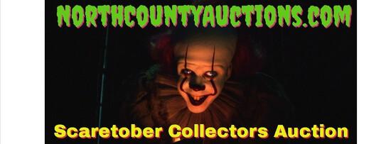 2021 Scaretober Collectors Estate Auction
