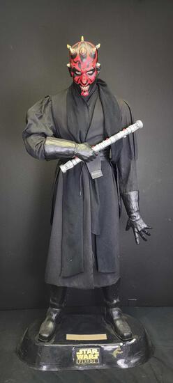 6ft Tall Dark Maul Life Size Figure - Star Wars The Phantom Menace
