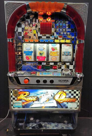 Olympia excellence model slot machine.