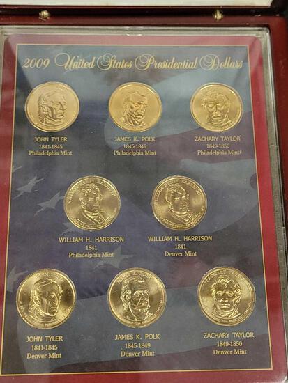 2009 Presidential Golden Dollar Gem Mint Uncirculated Collection
