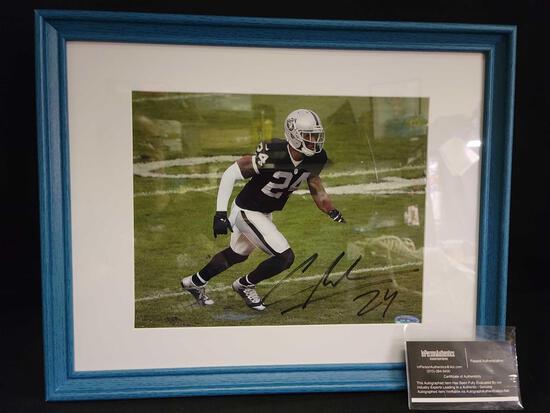 #24 Raiders Charles Woodson