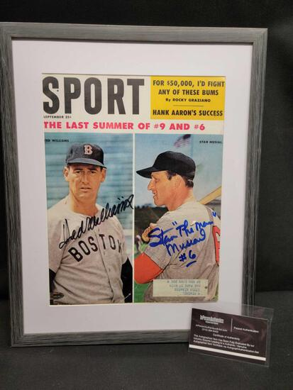 1959 Ted Williams & Stan Musial
