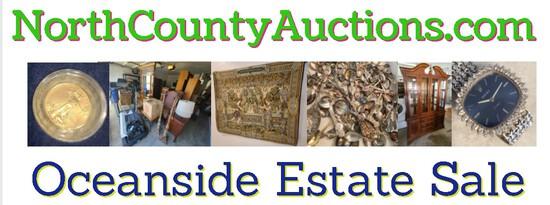 2021 September Oceanside Estate Sale Auction