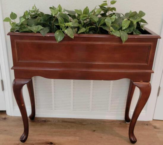 Indoor Wood Planter
