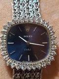Certified Ladies Orchid Diamond White Gold 18kt Rolex Stunning Watch Serial 267313103