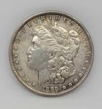 1889 Morgan silver dollar 90% silver