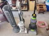 Shark liftaway deluxe vacuum. Bissell pro heat revolution carpet cleaner. Lasko stand up revolving