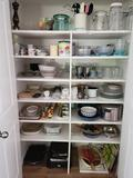 Pantry Glassware Pewter items platters Storage containers Dishes laguiole de table knives