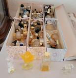 Miniature perfume bottles most empty