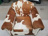 Unique Cowhide cushion house chair