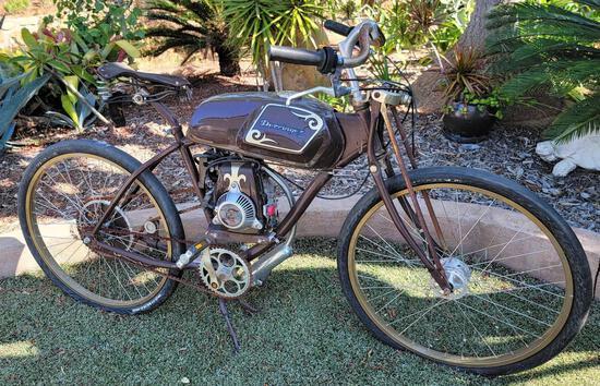 Derringer Cycles Bespoke Motorized Bicycle