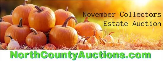 2021 November Collectors Estate Auction