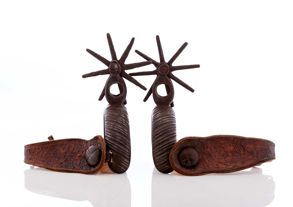 Early Chihuahuan Style Spurs