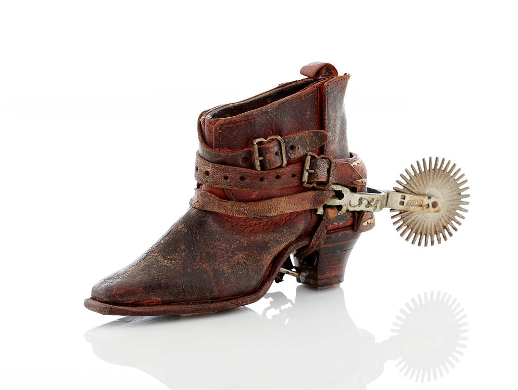 Miniature Chilean Boot & Spur