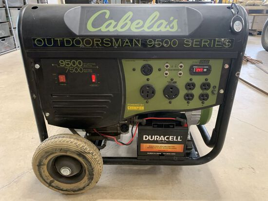 Cabelas Electric Start Generator