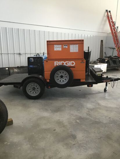 Maxey Trailer with Tool box