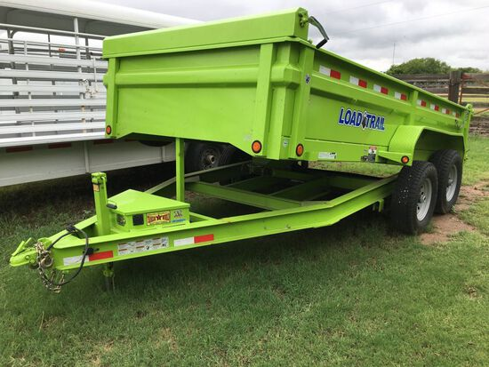 Load Trail Dump Trailer