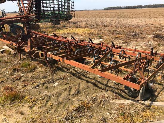 Triple K 6 row folding Field Cultivator