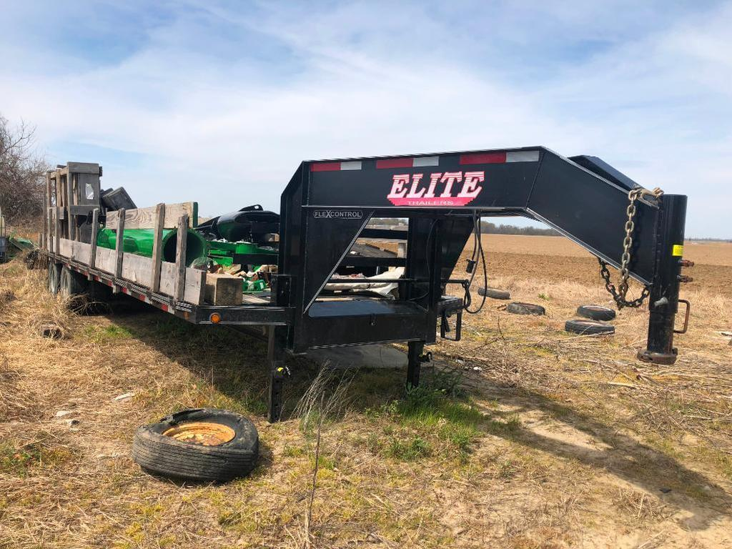 2018 Elite 32' Gooseneck Trailer