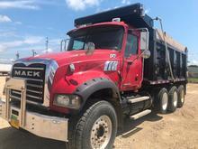 2008 Mack Granite Tri Axle Dump Truck