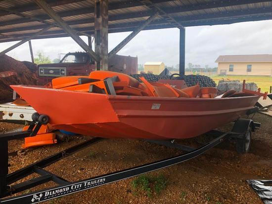 Sea Ark Aluminum Boat