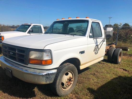 1997 Ford F-350 Pickup Truck, VIN # 1FDKF37H8VEB69385