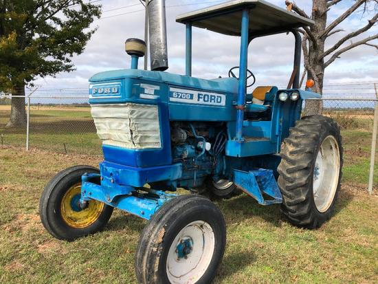 Ford 6700 2wd Tractor