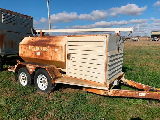 Reynolds 550 gallon fuel trailer
