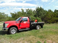 2011 Ford F350 Pickup w/bale bed