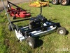 Kunz Pull Behind Mower/Gas Motor