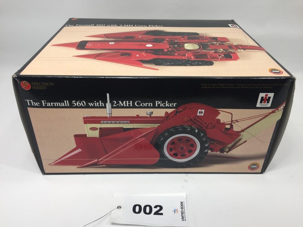 Farmall 560 w/ 2-MH Corn Picker