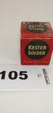 Kester Solder Plastic Rosin-core & Box