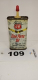 Phillips 66 Fine Parts Oil Lubricant Metal Can