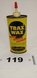Trax Wax The Weather-proof Co. Metal Can