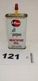 A Penn All Purpose Machine Oil Metal Can