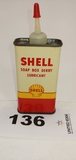 Shell Soap Box Derby Lubricant Can