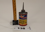 3b Boyer's Motor & Machine Oil Can